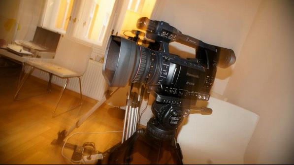 První dojmy z kamery Panasonic HPX250 (natáčení 2)