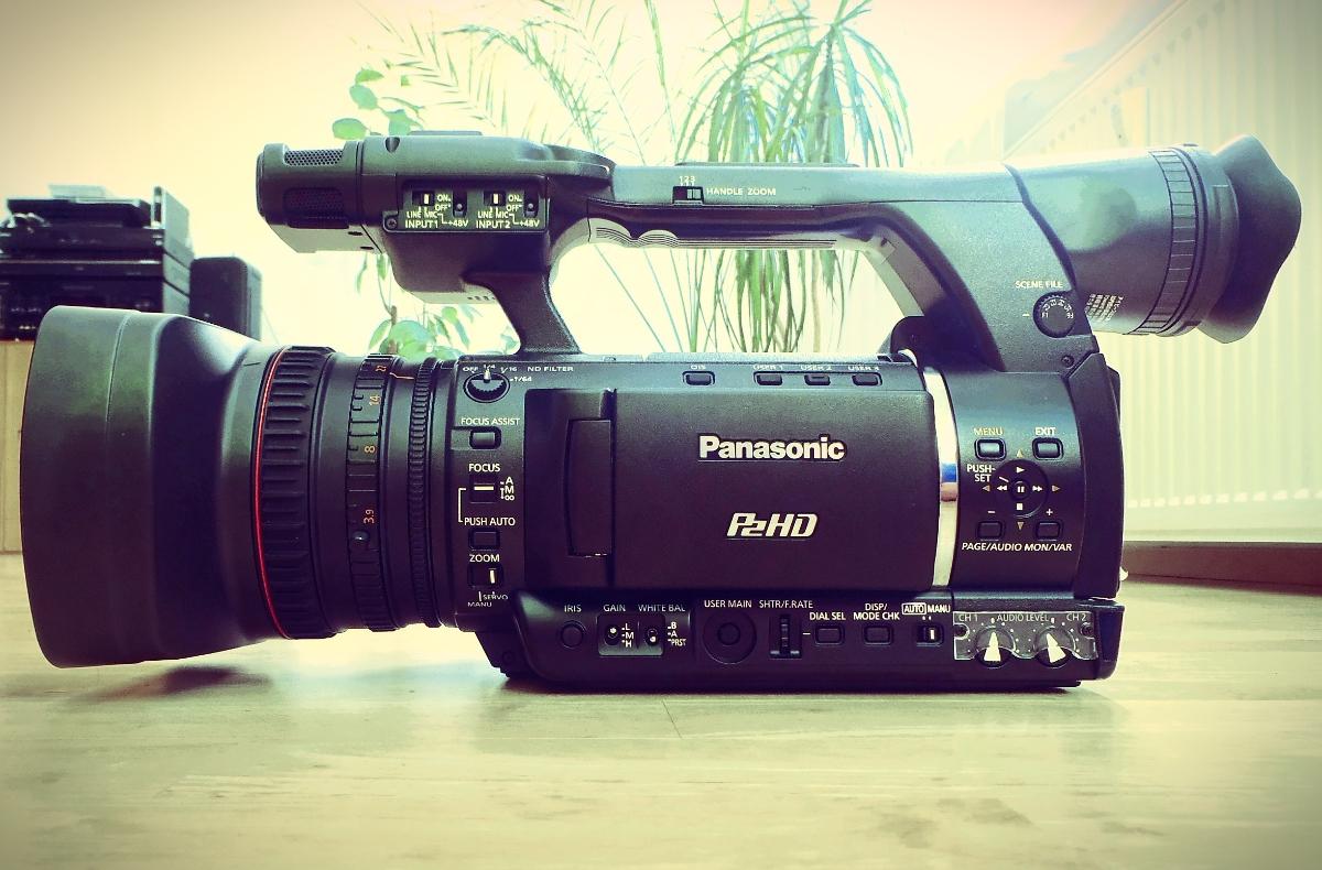 Postprodukční dojmy z kamery Panasonic HPX250