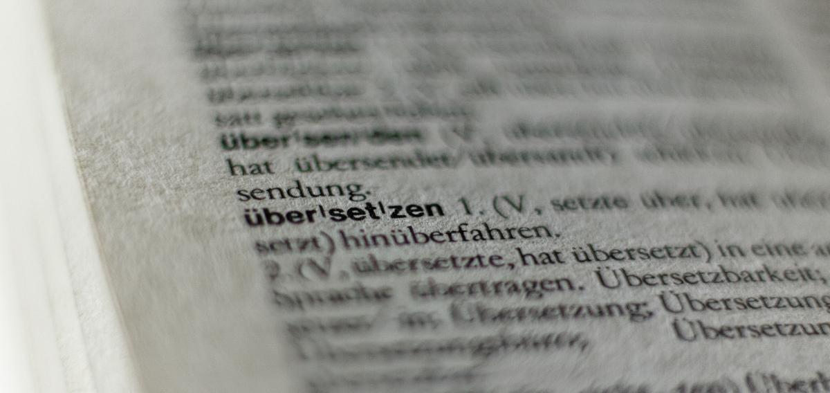 Übersetzen: překladatelské služby z němčiny