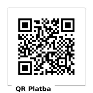ArtTech: QR platba