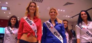 Natáčení videa ze slavnostního otevření prodejny CELIO