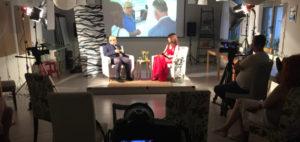 Natáčení rozhovorů InspireView s Petrou Slancovou